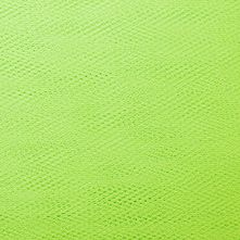 Flo Green Dress Net Fabric